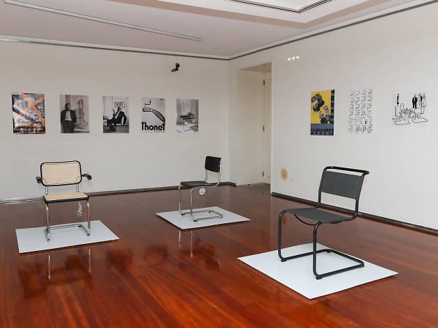 A cadeira de aço tubular tornou-se num símbolo da modernidade