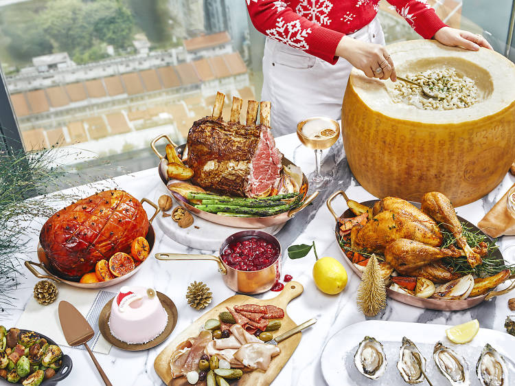 The best Christmas meals and festive menus in Singapore