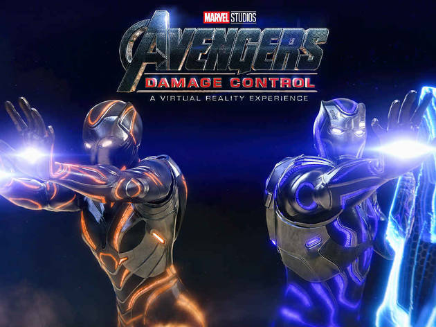 Fight alongside your favourite heroes in Avengers: Damage Control