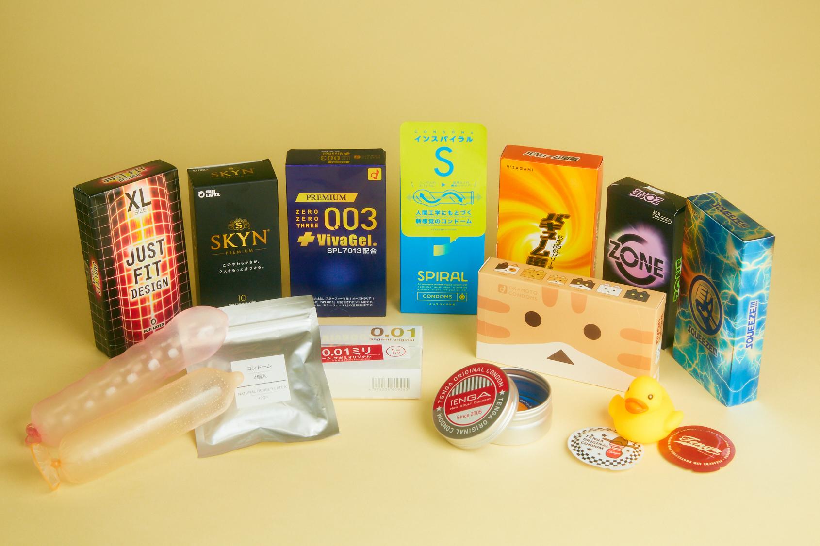 コンドーム悩み別5選