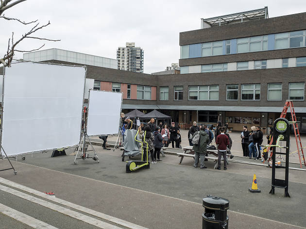 Behind the scenes of the film Blue Story