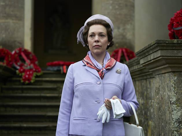 Olivia Coleman as Queen Elizabeth II in Netflix's The Crown