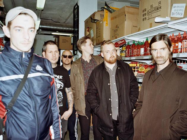Os Viagra Boys declamam odes à selvajaria no Super Bock em Stock