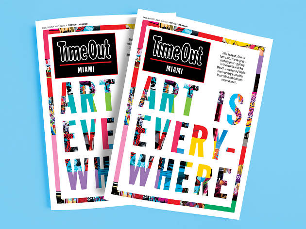 Time Out Miami issue 9 cover