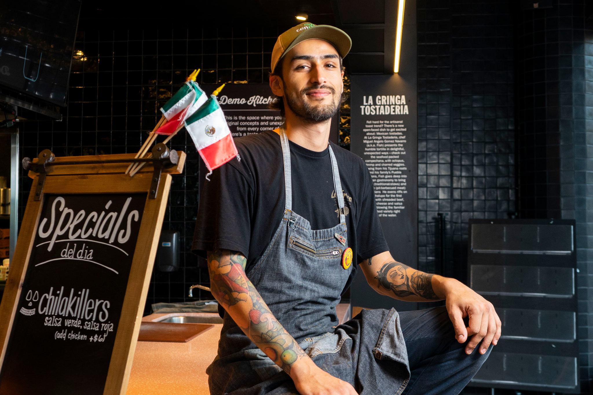 Chef Fish La Gringa Tostaderia