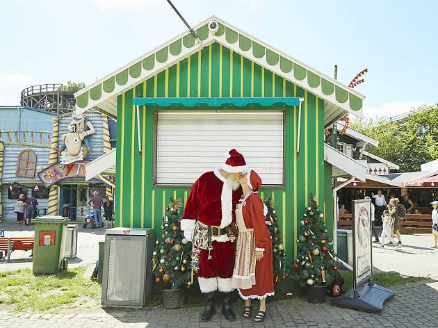角田明子写真展 サンタさんが いっぱい