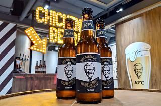 kfc hk beer