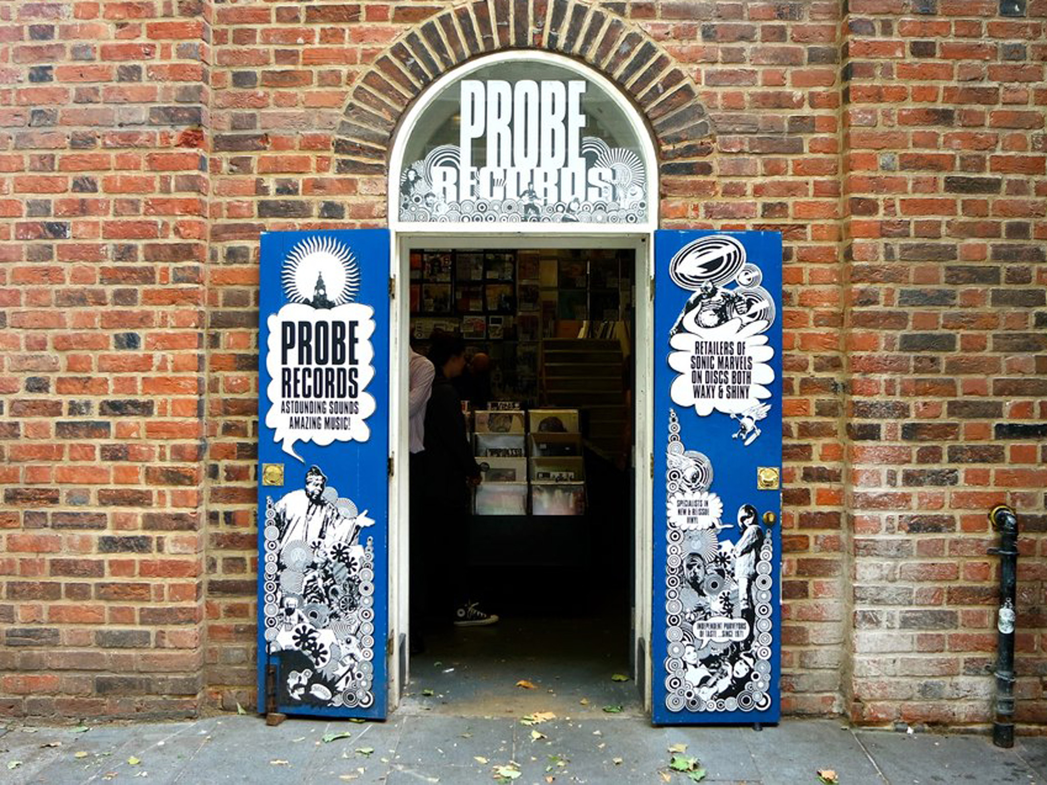 The exterior of Probe Records
