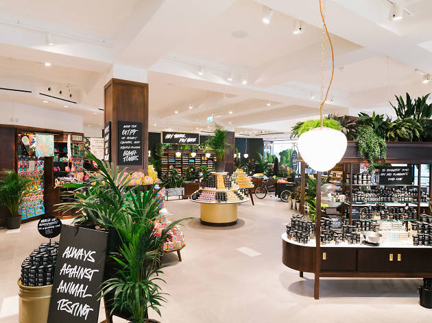 Inside the world's biggest Lush store in Liverpool