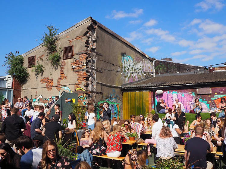 Discover a thriving warehouse district in Liverpool