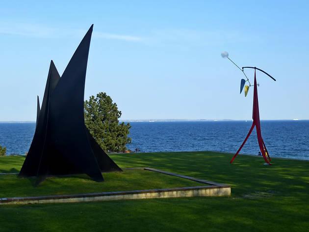 Outdoor sculpture at Louisiana Museum of Modern Art