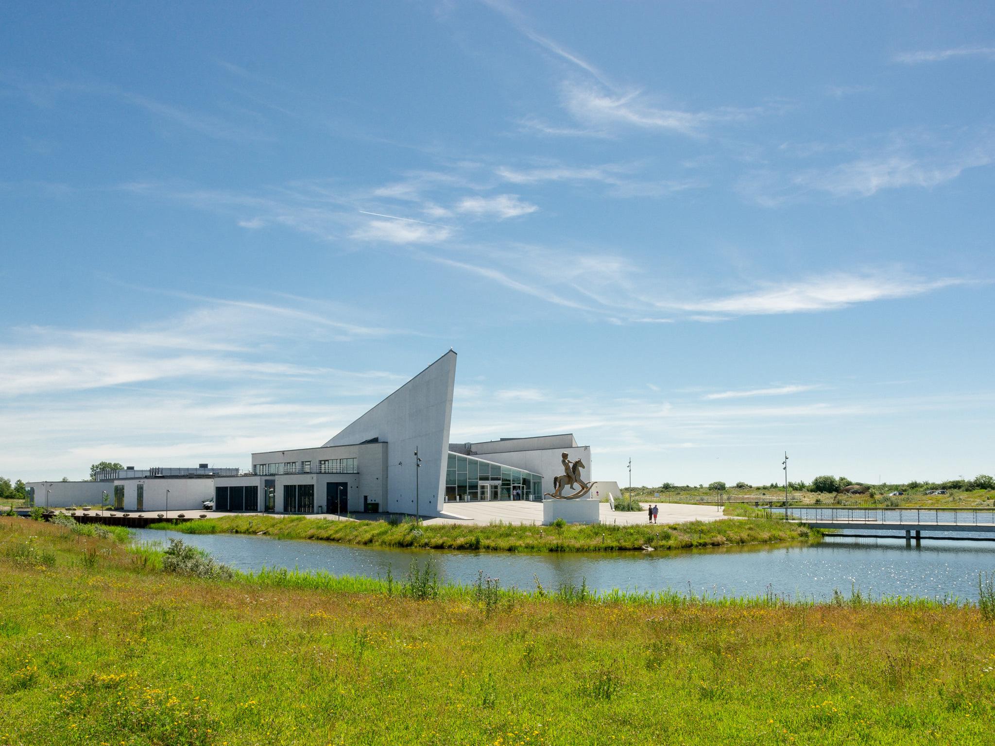 A view of Arken Museum for Moderne Kunst