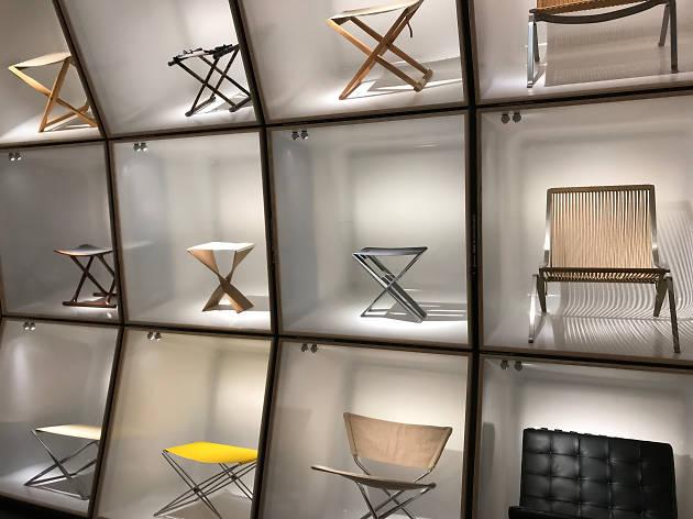 The chair exhibition at Designmuseum Danmark in Copenhagen