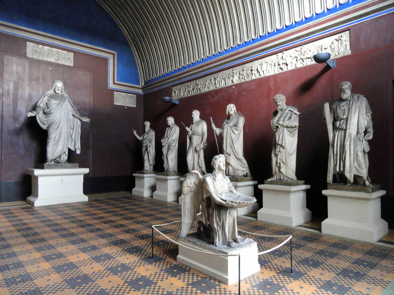 Statues at Thorvaldsens Museum in Copenhagen