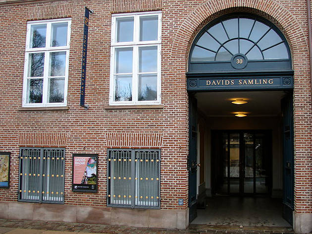The exterior of the David Collection in Copenhagen