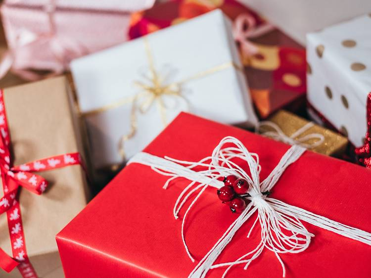 Presentes de Natal até cinco euros