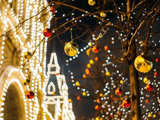 Christmas Lights stock
