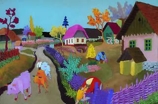 Slavko Stolnik: Cows are returning (1957)