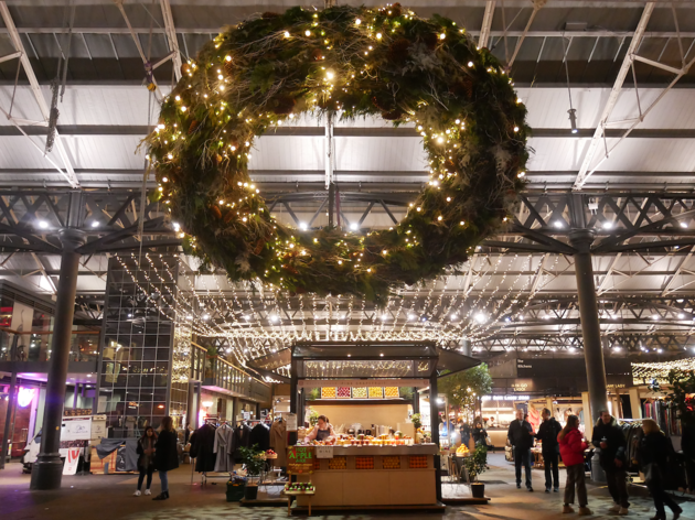 Old Spitalfields Market Christmas Shopping Lates