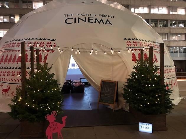 The Nomad Cinema Festive Igloo