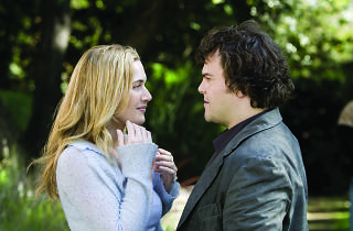 KATE WINSLET and JACK BLACK star as Iris and Miles in THE HOLIDAY.