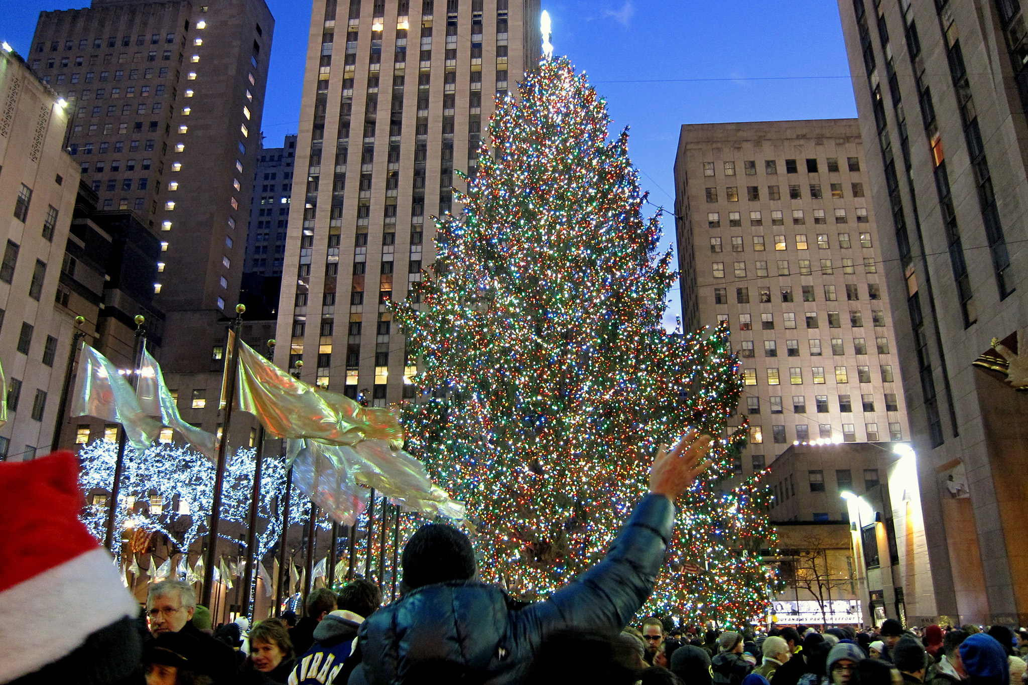 The Rockefeller Center Christmas Tree Lighting Performers Have Been Announced