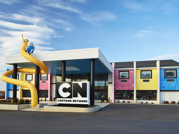 The Cartoon Network Hotel is officially open
