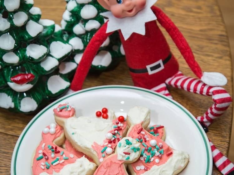 Stocking up on seasonal sweets