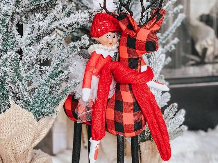 Enjoying a white Christmas