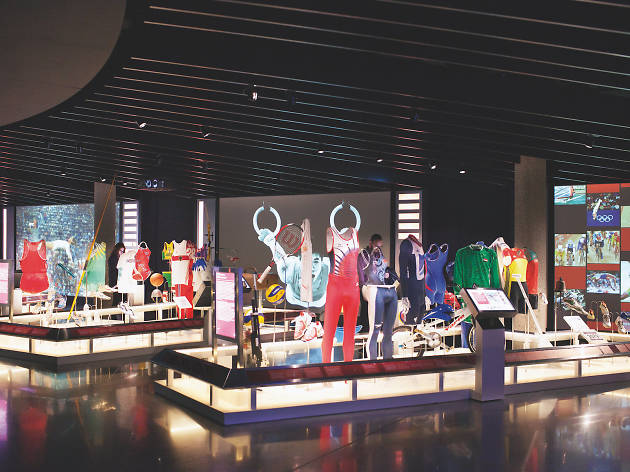 Permanent collection at The Olympic Museum