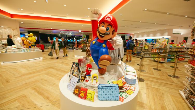 Shibuya Parco - Nintendo Store