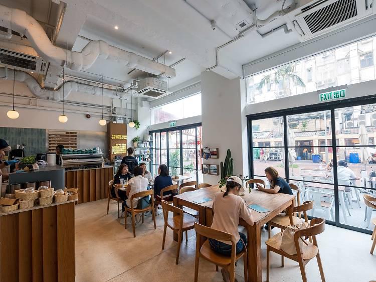 西貢必試咖啡小店