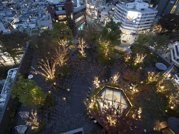 Omohara Illumination; Tokyu Plaza Omotesando Harajuku