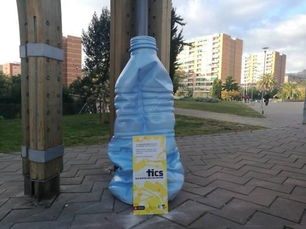 Ampolla de plàstic
