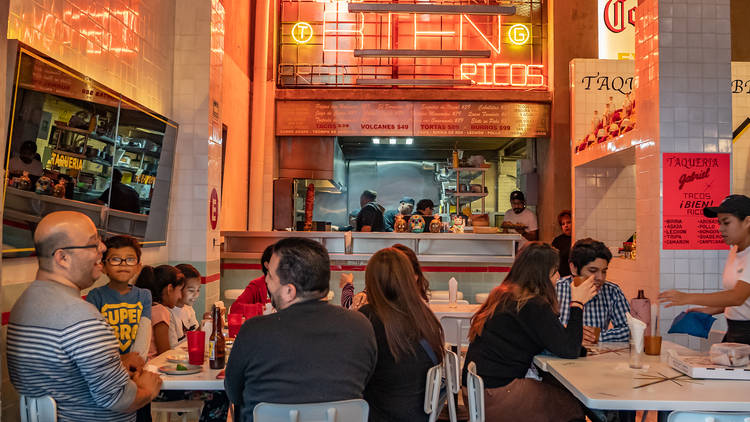 Taquería Gabriel: tacos, burritos, tortas y cerveza fría en la Cuauhtémoc