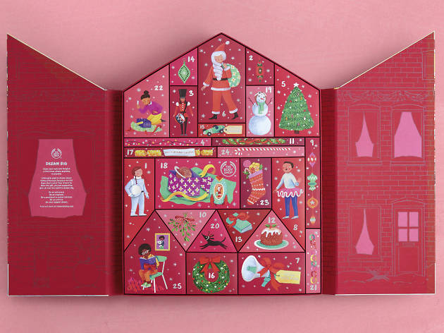 The Body Shop_advent calendars 2019