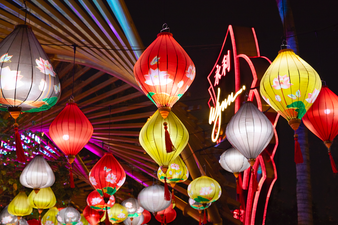 Dancing Butterflies and Dazzling Lanterns at Wynn Macau