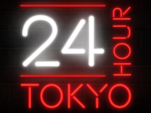 24-hour Tokyo