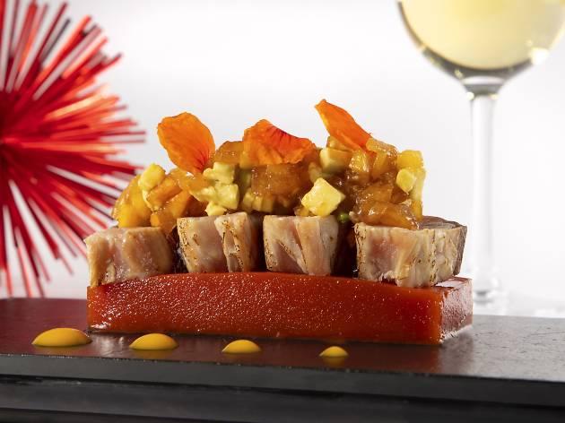 Restaurant CentOnze de l'hotel Le Méridien Barcelona