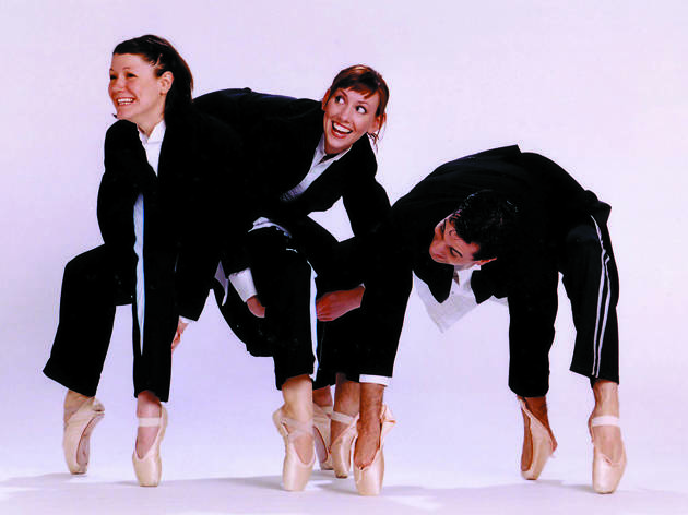 Jeffrey Kazin, Emily Tschiffely and Amber Sloan in The Bang Group's Nut/Cracked