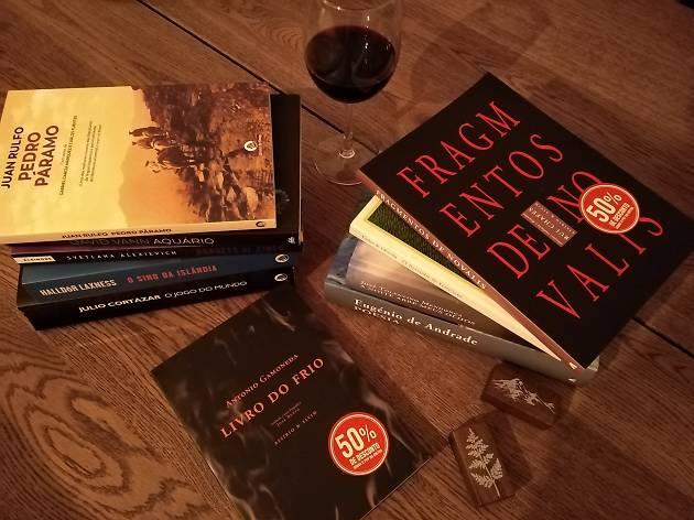 Livros com desconto na Flâneur