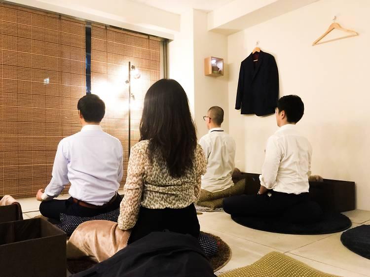 瞑想カフェ 気づき