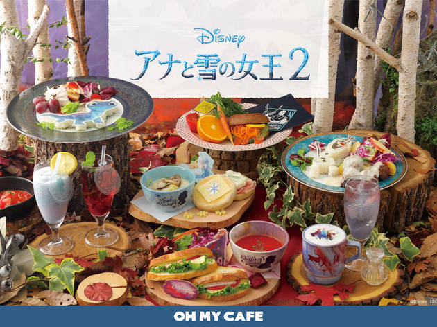 Frozen café comes to Tokyo with the release of movie sequel
