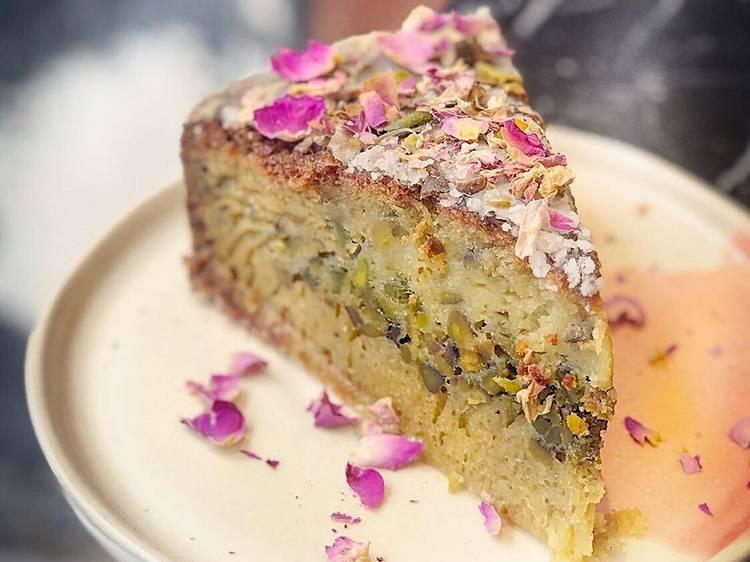 Le gâteau à la pistache d'Ibrik
