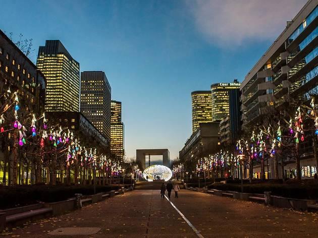 Village de Noël Paris La Défense
