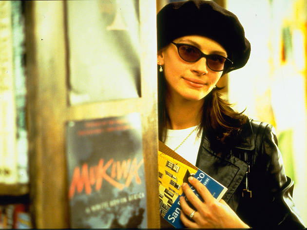 Julia Roberts as Anna Smith in Richard Curtis's Notting Hill