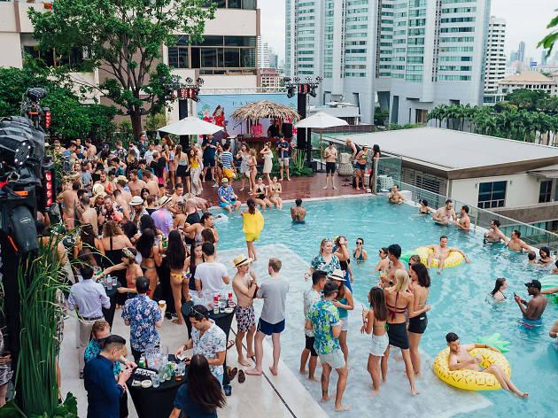 Havana Social's Tiki Pool Party