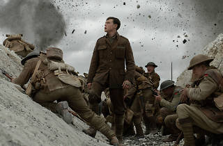 A still from the film 1917 featuring George MacKay