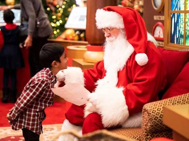 Where to meet Santa Claus in Singapore this Christmas