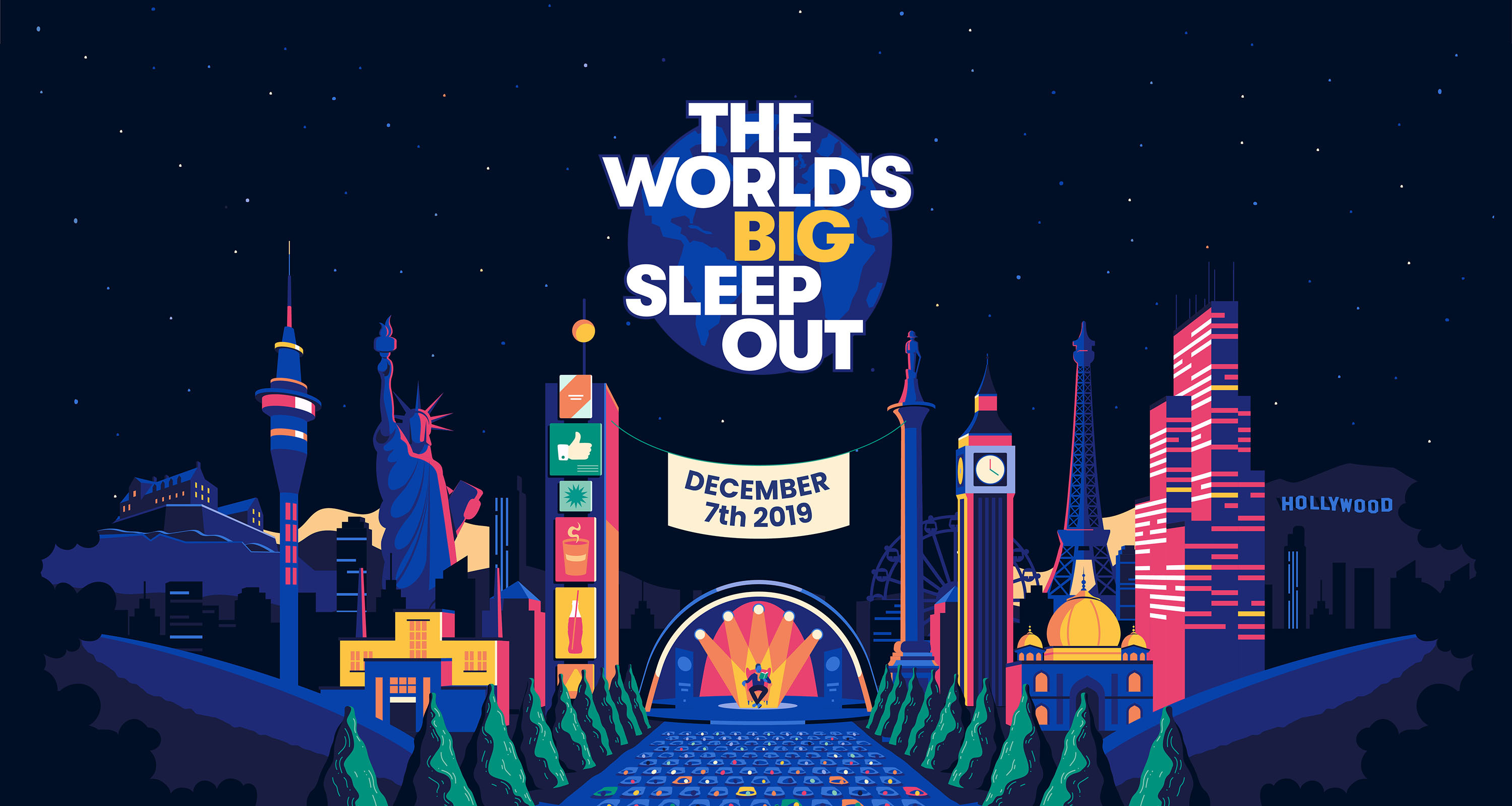The World's Big Sleep Out. Matadero